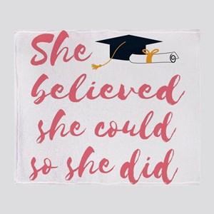 Graduation gift Throw Blanket