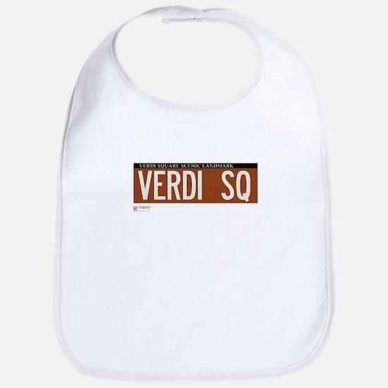 Verdi Square in NY Bib