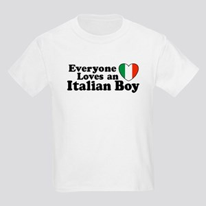 Everyone loves an italian boy Kids T-Shirt