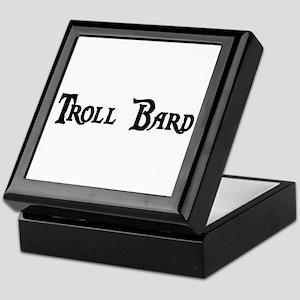 Troll Bard Keepsake Box