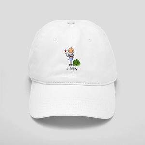 I Garden Stick Figure Cap