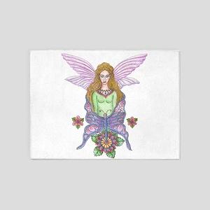 Fairy Realm 5'x7'Area Rug