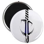 Jon Cutler Logo Transparent White Shirt Magnets