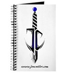 Jon Cutler Logo Transparent White Shirt Journal