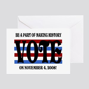 Historical Election Greeting Card