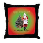 The Masonic Christmas Promise Throw Pillow