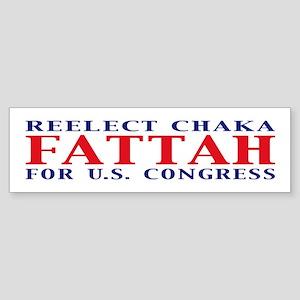 Reelect Fattah Bumper Sticker