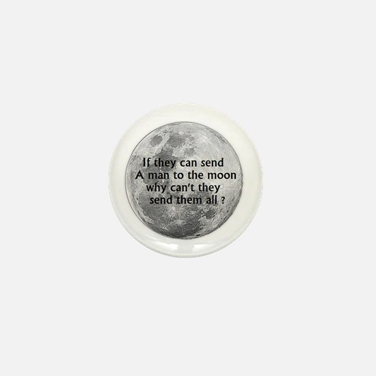 Funny Send Mini Button