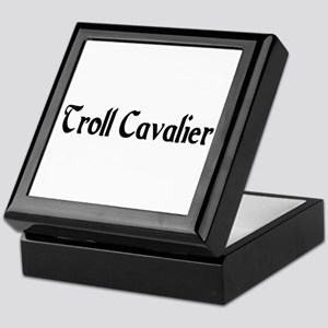 Troll Cavalier Keepsake Box
