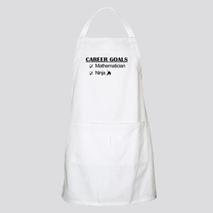 Mathematician Career Goals Ninja BBQ Apron
