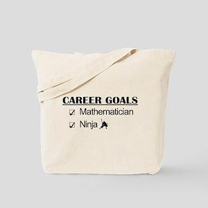Mathematician Career Goals Ninja Tote Bag