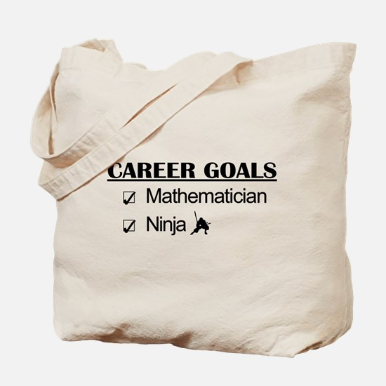 Mathematician Career Goals Ninja Tote Bag