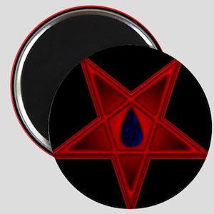 Red Pentacle, Black Flame Magnet
