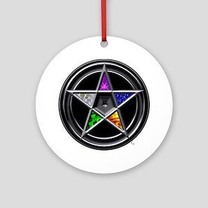 Element Pentacle ornament