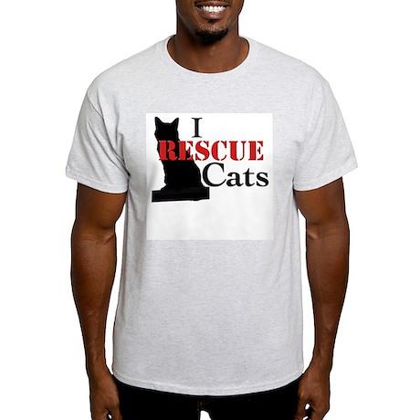 I Rescue Cats Light T-Shirt