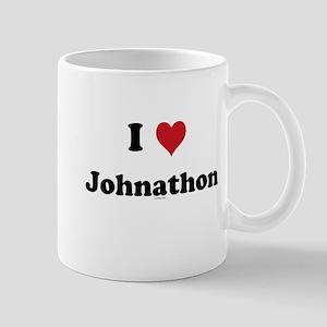I love Johnathon Mug