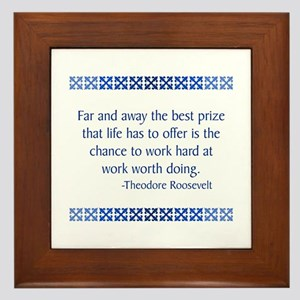 Roosevelt Framed Tile