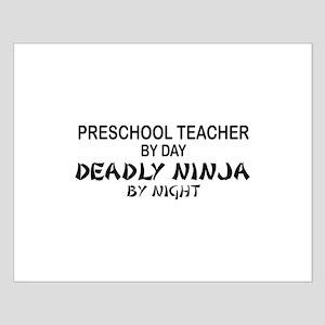 Preschool Teacher Deadly Ninja by Night Small Post