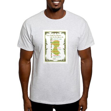 Jane Austen Christmas Light T-Shirt
