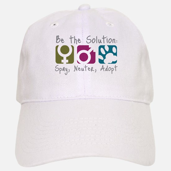 Be the Solution Baseball Baseball Cap