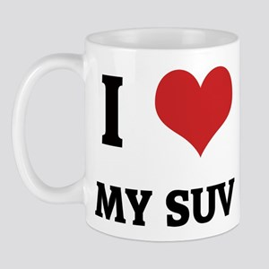 I Love My SUV Mug