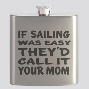 If Sailing Sports Designs Flask