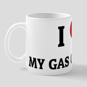 I Love My Gas Guzzler Mug