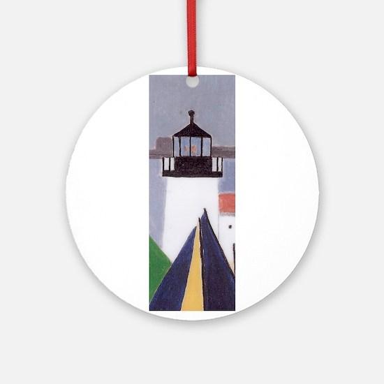 BRANT PT LIGHTHOUSE Ornament (Round)