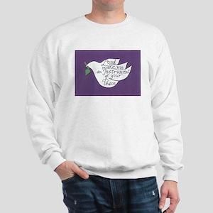 ST FRANCIS' DOVE Sweatshirt