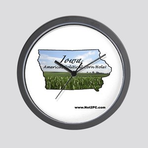 Corn hole Wall Clock