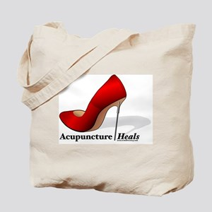ACUPUNCTURE HEALS Tote Bag