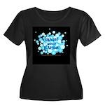 Hand Hygiene Women's Plus Size Dark T-Shirt