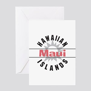Maui Hawaii Greeting Card