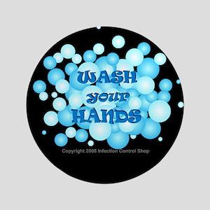 """Hand Hygiene 3.5"""" Button"""