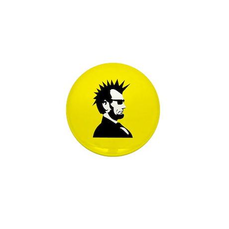 Abraham Lincoln Rocks! Mini Button (10 pack)
