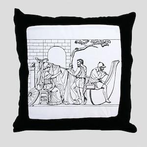Constructing the Argo Throw Pillow