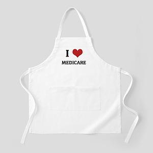 I Love Medicare BBQ Apron