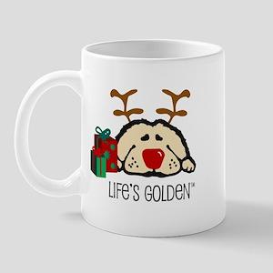 Life's Golden Rudolph Mug