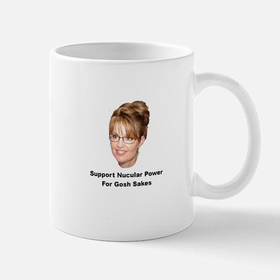 Support Nucular Power For Gos Mug