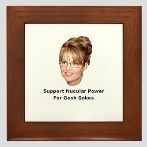 Support Nucular Power For Gos Framed Tile