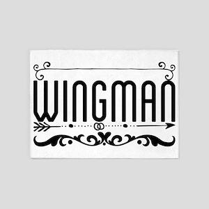 Wingman 5'x7'Area Rug