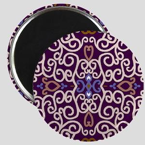 Art Nouveau (purple/ivory) Magnet