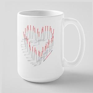 I HEART ACUPUNCTURE Large Mug