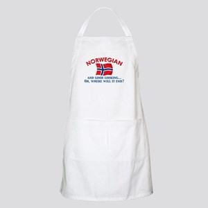 Good Lkg Norwegian 2 BBQ Apron