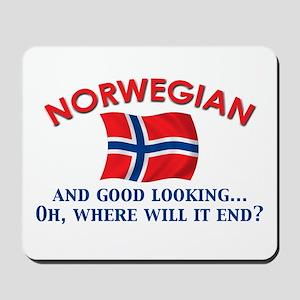 Good Lkg Norwegian 2 Mousepad