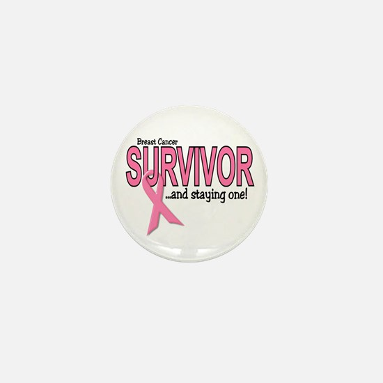 Breast Cancer Survivor Mini Button