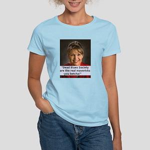 """Sarah Palin """"Maverick"""" Women's T-Shirt"""