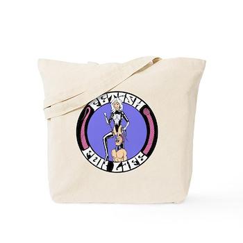 Fetish For Life Killer Boots Tote Bag