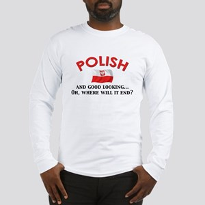 Good Lkg Polish 2 Long Sleeve T-Shirt