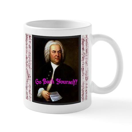 Go Bach Yourself! Mug